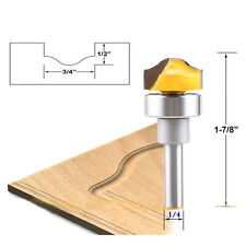 "1Pcs Profile Groove Template Router Bit - 1/4"" Shank Woodworking Cutter Tools"