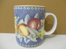 "MOTTAHEDEH APPLES BERRIES & CHERRIES MUG - 4 1/8"" 0909I"