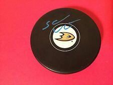Sami Vatanen Ducks Hockey Signed Auto Puck Holder Auto COA