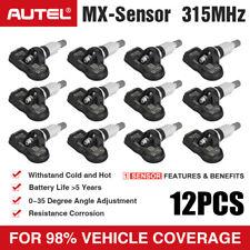 12*Autel TPMS Tyre Sensor 315MHZ MX-Sensor for BMW Ford Vauxhall VW 100% Genuine