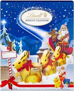 lindt chocolate advent calendar 160g