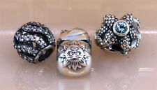Pandora ALE Bead Charms (3PS) Lot # 13 in Sterling Silver 925
