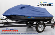 PWC Jet ski cover- Blue Fits Seadoo Jet Boat-Speedster 14.5'