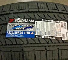 4 New 275 55 20 Yokohama Geolandar H/T G056 Tires