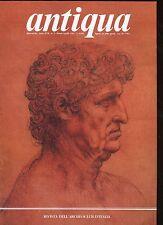 ANTIQUA Rivista dell'Archeoclub Italia A. XVII N.2 marzo-aprile 1992 archeologia
