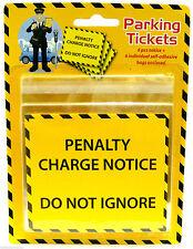 2 Pack of 6 Fake Parking Ticket Good Fun Joke Penalty Charge Notice Fine Prank