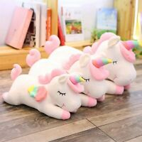 25cm Soft Cotton Giant Plush Jumbo Unicorn Toys Stuffed Animal Dolls HOT Wxm