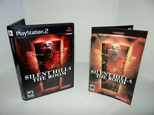 Silent Hill 4 The Room Playstation 2  - Replacement manual, case and case insert
