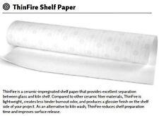 """5 Sheets 20.5"""" BULLSEYE THINFIRE KILN SHELF PAPER Fusing Supplies"""