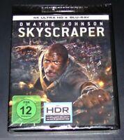 Gratte-Ciel Avec Dwayne Johnson 4K Ultra HD blu ray + Neuf & Emballage D'Origine