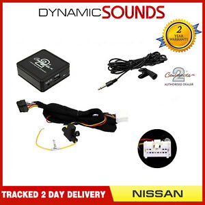 Car Bluetooth Music Streaming Handsfree Interface for Nissan Primera 1999-2002