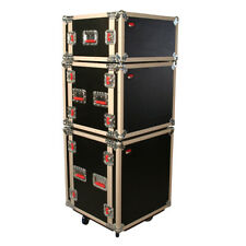 Gator G-Tour Shk8 Cas G-Tour Shock Rack Cases 8U Shock Road Rack Case W/ Casters