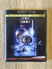 Star Wars Episode I: The Phantom Menace (4K Ultra Hd, Blu-ray + Digital Code)