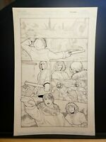 TRANSFORMERS G1 Vol.1 Issue #2 Page 05 Original Comic Book Art Work Dreamwave