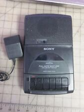 Sony Cassette Corder Model Tcm-929 - Tested - w/ Sony Ac adapter