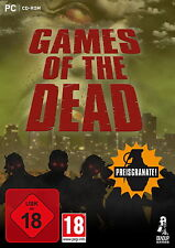 Games of the Dead -3 zombi juegos: trapped Dead-Dames 30-Dead Horda-pc-neu&ovp