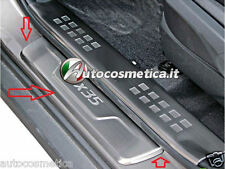 Set 4 Battitacco con scritta ix35 protezione soglia entrata Hyundai battitacchi