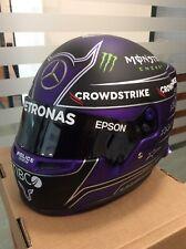 Formula 1 Mercedes W12 EQ Replica Hamilton Helmet Winner 7 Full Scale 1 : 1 2021