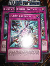 YU-GI-OH! COM FUSION FROUVAISE PLAYSET (LOT DE 3) TDIL-FR069 FRANCAIS EDITION 1