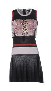 JUST CAVALLI Soft Fine Knitted Fabric Dress Sz S