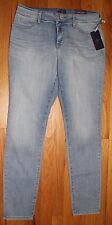 $134 NYDJ NOT YOUR DAUGHTER'S JEANS manhattan SUPER SKINNY JEANS SZ 12