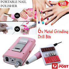 Portable Salon Beauty Electric Nail Drill Machine Cordless Manicure Set 35000RPM