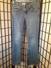 Aeropostale Size 1/2 Junior Short Hailey Skinny Flare Blue Jeans