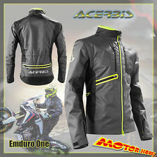 GIACCA ACERBIS OFF ROAD GEAR MOTO JACKET ACERBIS ENDURO ONE NERO GRIGIO TG. L