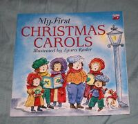 My First Christmas Carols by Laura Rader (1994, Paperback)
