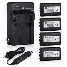 EN-EL1 Battery + Charger For Nikon Coolpix 5700 5400 4300 4500 4800 775 880 8700
