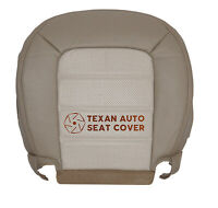 2005 Ford Explorer Eddie Bauer Driver Bottom Leather Seat Cover Tan Perforated