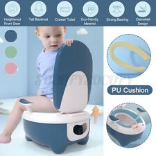 New listing Child Baby Toddler Potty Training Toilet Seat Stool Simulation Toilet Chair Pink