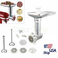 Meat Grinder Sausage Mincer Stuffer Attachment For KitchenAid Stand Mixer USA