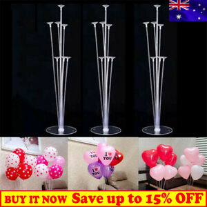 2 Pcs Table Balloon Stand Kit Birthday Party Wedding Decorations Balloon Holder
