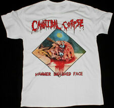 CANNIBAL CORPSE HAMMER SMASHED FACE This Tour Men's White T Shirt FREE SHIPPING