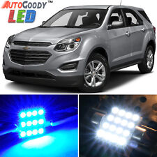 13 x Premium Blue LED Lights Interior Package for Chevy Equinox 2010-2017 + Tool