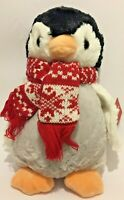 Penelope Penguin Christmas Scarf Soft Toy. By A. S Watson. New With Tags