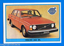 SUPER AUTO - Panini 1977 -Figurina-Sticker n. 193 - VOLVO 244 DL -Rec
