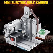 Mini Electric Belt Sander Grinder Polishing Machine Sanding Belt Sharpener DIY