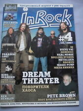 King Diamond/Paradise Lost RUSSIAN 'In Rock' Magazine
