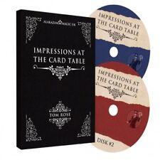 Impressions à la carte de table par Tom Rose 2 Disc Set
