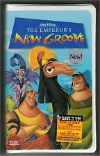 Disney The Emperors Groove Factory Sealed VHS Prerecorded Family Movie