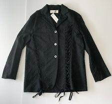 damir doma BOHEMIA DARK GREY lace-up jacket it42 usa8 NEW