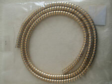 SCOOTER MOTORCYLE GOLD COLOURED CABLE COVER 11MM X 13MM X 1.5METRES
