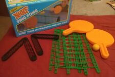 1987 Parker Brothers Official NERF Ping Pong Set
