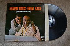 SAMMY DAVIS COUNT BASIE Our Shining Hour Jazz original Verve RECORD LP VG+