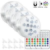 Remote Control Light RGB Multi Color Change Underwater Pond Aqua Mood LED Lights