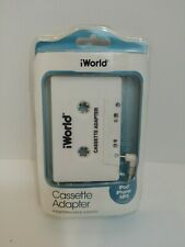 iWorld Cassette Adapter Ca-4070 iPod iPhone Mp3 Compatible