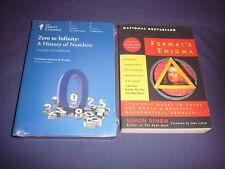 Teaching Co Great Courses  DVDs           ZERO to INFINITY      latest + BONUS