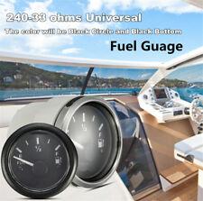 1X Fuel Level Gauge Boat/Marine Fuel Tank Level Gauge 12/24V 52mm 240-33 ohms